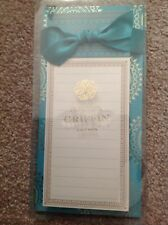 "ANNA GRIFFIN ""TURQUOISE LIST PAD"" (NP239) BRAND NEW IN PACKAGE- UNOPENED"
