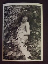 SEXY YOUNG LADY POSING IN A BED OF VINES Vtg 1977 PHOTO