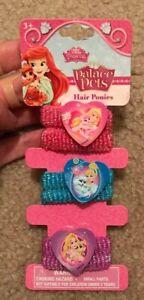 Disney Princess Palace Pets Hair Ponies 3ct
