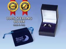 Good Night Sterling Silver Anti-Snoring Ring - Medium
