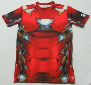 Under Armaour Comprenssion Avenger Iron  Men T- Shirt  XL