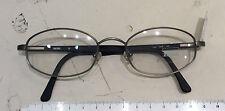 Zeiss 1306 occhiale nuovo vintage anni 90' metallo  colore grigio opaco