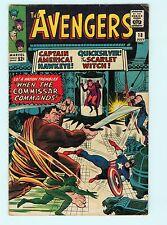 The Avengers #18 6.5 FN+ Silver Age Marvel Comic Book Captain America Rare Books