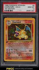 1999 Pokemon Spanish 1st Edition Holo Charizard #4 PSA 10 GEM MINT