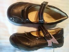 primigi girls shoes Mary Jane Size 33 brown pink