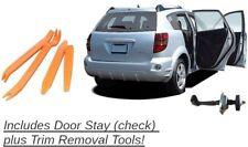 Pontiac Door Stay Vibe 03-08 + Trim Remover Stopper Check Strap Stop Jam Checker