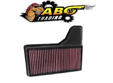 K&N Air Filter For 2015-2016 FORD MUSTANG GT 5.0L / 3.7L V6 / 2.3L L4 - 33-5029