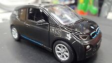 BMW i3 nuevo negro 1/32 escala coche de metal regalo