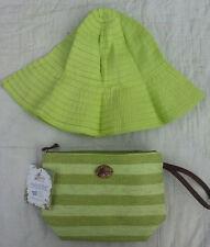 Capelli Handbag and Folding Hat Combo New