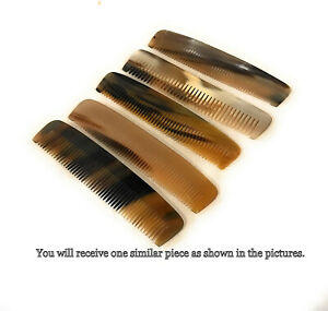 Dovo Natural Horn Beard & Mustache Grooming Comb For Men Women Hair Care Comb