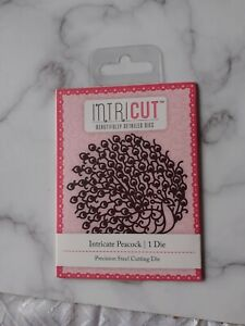 BRAND NEW  ___  SMALL INTRICUT DIE CUTTER - PEACOCK CRAFT CLEAROUT
