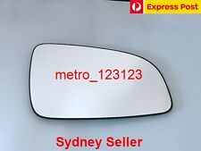 RIGHT DRIVER SIDE HOLDEN ASTRA (AH) 2005 - 2009 MIRROR GLASS WITH HEATED PLATE
