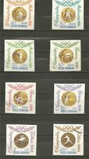 ROMANIA - 1964 Romanian Olympic Gold Medal Winners - IMPERF. SET USED
