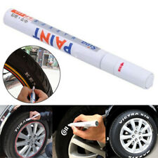 1pcs White Waterproof Car Tyre Tire Tread Rubber Paint Pen Markers Pen Permanent