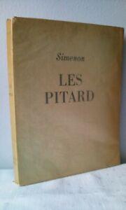 LES PITARD .  SIMENON . EDITION LIMITEE . 1945 .  N° 481/1000 .