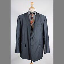 Calvin Klein 50L Gray Herringbone 2B Mens Sport Coat Blazer Jacket 72-3