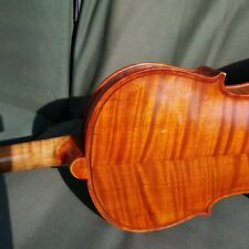 Fine old German Antique c1880 4/4 superb flamed back labelled Orchestral Violin