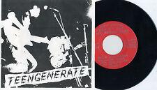 """Teengenerate-out of sight 7"""" SUPERSNAZZ registrators Headbangers Firestarter"""