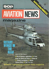 AVIATION NEWS V14 N13 RAAF HELOS SQUIRREL HUEY_YP-24_SCOTTISH AVIATION PIONEER C