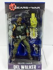"Gears Of War 4 del Walker 7"" Inch Action Figure couleur Tops Bleu MCFARLANE"