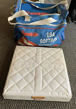 Franklin Sports Softball 4 Base Set With Carrying Case - Nice !!!