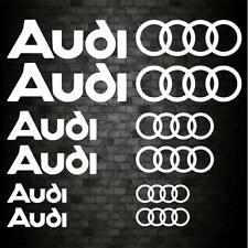 12 AUDI STICKERS SET Funny Car Bumper A1 A3 A4 A5 A6 Novelty Vinyl Decal Sticker