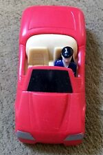 "1997 Lois Lane Red Car 4"" Burger King Action Figure Superman DC Comics"