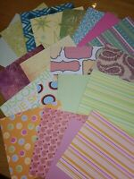 "20 6""x6"" Papers Card Making Kit Bundle Joblot Junk Journalling"