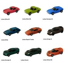 SUNTORY BOSS Coffee Lotus Collection Pull-Back Mini Car Model (9) Complete Set