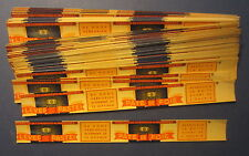 "Wholesale Lot of 100 Old Vintage 1930's - LIVER PATE - CAN LABELS - 1"" x 9 3/4"""