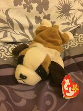 1996 Retired Bernie the Dog Ty Beanie Baby Plush Toy NEW