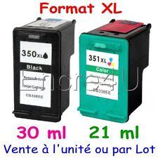 Cartouches d'encre remanufacturées HP 350 XL et HP 351 XL ( Noir / Couleurs )