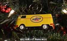 Volkswagen Pennzoil Panel Delivery Van Bus Custom Ornament VW 1/64 Vanagon T2 T1
