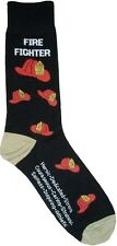 Fire Fighter (5503) Man Socks Cotton New Gift Fun Unique Fashion