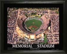 BALTIMORE ORIOLES @ OLD MEMORIAL STADIUM 22X28FRAME