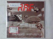RAF Malinverno 14-07-2007 cd singolo RARISSIMO SIGILLATO ALFREDO GOLINO