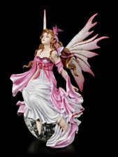 Elfen Figur auf Glaskugel - Daybreak by Nene Thomas - Fantasy Elfenprinzessin