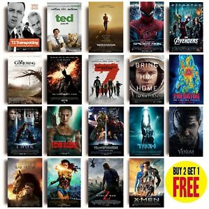 2010s MOVIE POSTERS T - Z A3 / A4 Size Photo Print Film Cinema Wall Fan Art