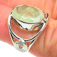 Prehnite 925 Sterling Silver Ring Size 6 Ana Co Jewelry R62568F