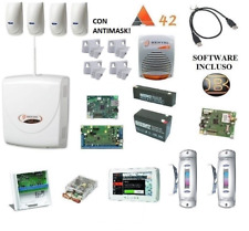 kit absoluta 42 COMPLETO bentel 4 sensori antimask e 2 tenda esterni touchscreen