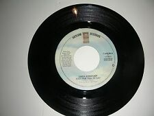Linda Ronstadt - Easy For You To Say / Mr. Radio  45 Asylum NM 1982