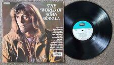 JOHN MAYALL - THE WORLD OF JOHN MAYALL - OZ PRESS DECCA LABEL PSYCH BLUES LP