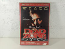 The Dead Zone STEPHEN KING MOVIE  - DVD - 1980s WIDESCREEN - RARE VINTAGE PRINT
