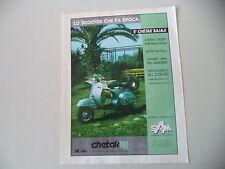 advertising Pubblicità 1994 BAJAJ CHETAK