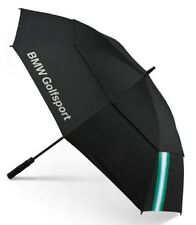 BMW Golf Collection Automatique Parapluie Noir Vert 80232285754 GENUINE NEW
