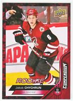 2016-17 Upper Deck Compendium Series 3 RED ROOKIE RC Jakob Chychrun  #896