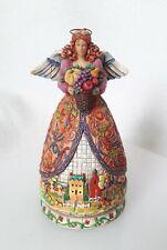 "2006 ▪Jim Shore▪ Heartwood Creek▪ ""Bountiful Angel� Figurine▪# 4006722"