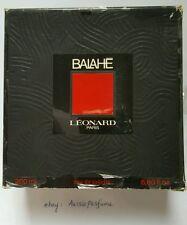 LEONARD PARIS BALAHE 200ML/ 6.8oz EDT Splash Vintage Perfume Rare Discontinued