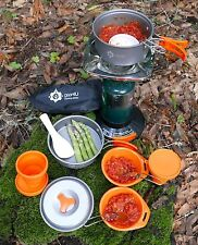 13Pcs Camping Cookware Set Cooking Outdoor Camp Picnic Hiking Bowl Pot Fire Pan