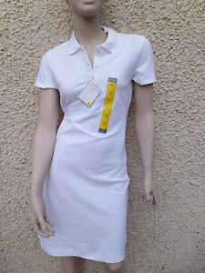 LADIES 10 12 14 16 18 WHITE QUALITY SPORTS TENNIS BADMINTON GOLF T SHIRT DRESS